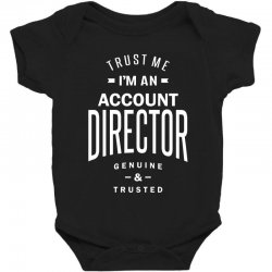 Account Director Baby Bodysuit | Artistshot