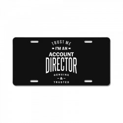 Account Director License Plate | Artistshot