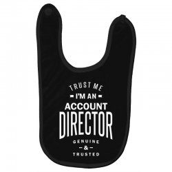 Account Director Baby Bibs | Artistshot