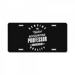 Accounting Professor License Plate | Artistshot