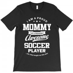 Women's Soccer Mommy T-Shirt | Artistshot