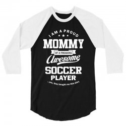 Women's Soccer Mommy 3/4 Sleeve Shirt | Artistshot