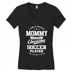 Women's Soccer Mommy Women's V-Neck T-Shirt | Artistshot