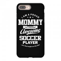 Women's Soccer Mommy iPhone 8 Plus Case | Artistshot