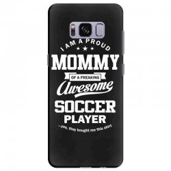 Women's Soccer Mommy Samsung Galaxy S8 Plus Case | Artistshot