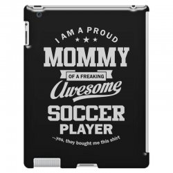 Women's Soccer Mommy iPad 3 and 4 Case | Artistshot