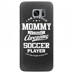 Women's Soccer Mommy Samsung Galaxy S7 Edge Case | Artistshot