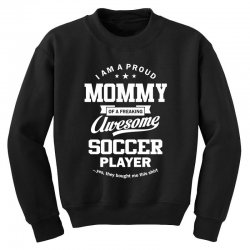 Women's Soccer Mommy Youth Sweatshirt | Artistshot