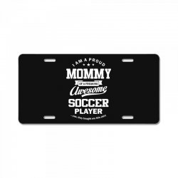 Women's Soccer Mommy License Plate | Artistshot