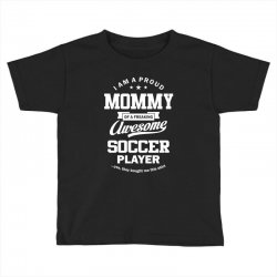 Women's Soccer Mommy Toddler T-shirt | Artistshot