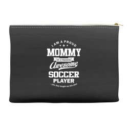 Women's Soccer Mommy Accessory Pouches | Artistshot