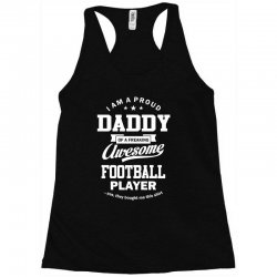 Men's Football Daddy Racerback Tank | Artistshot