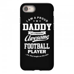 Men's Football Daddy iPhone 8 Case | Artistshot