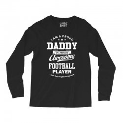 Men's Football Daddy Long Sleeve Shirts | Artistshot