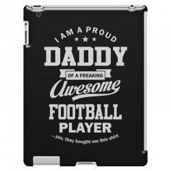 Men's Football Daddy iPad 3 and 4 Case | Artistshot