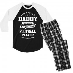 Men's Football Daddy Men's 3/4 Sleeve Pajama Set | Artistshot