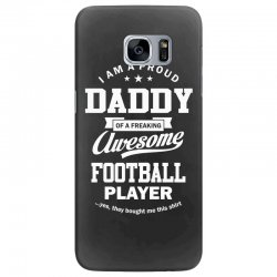 Men's Football Daddy Samsung Galaxy S7 Edge Case | Artistshot