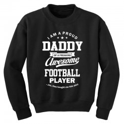 Men's Football Daddy Youth Sweatshirt | Artistshot
