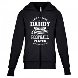 Men's Football Daddy Youth Zipper Hoodie | Artistshot