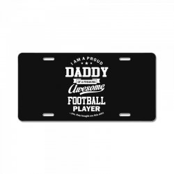 Men's Football Daddy License Plate | Artistshot