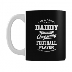 Men's Football Daddy Mug | Artistshot