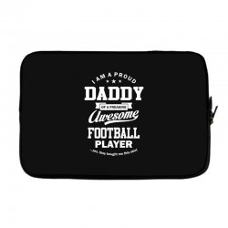 Men's Football Daddy Laptop sleeve | Artistshot