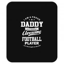 Men's Football Daddy Mousepad | Artistshot