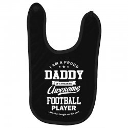 Men's Football Daddy Baby Bibs | Artistshot