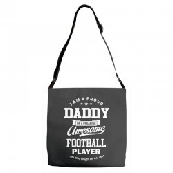 Men's Football Daddy Adjustable Strap Totes | Artistshot
