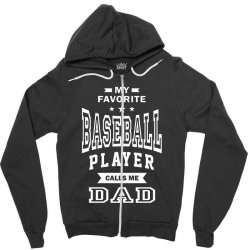 Men's Baseball Dad Zipper Hoodie | Artistshot