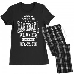 Men's Baseball Dad Women's Pajamas Set | Artistshot