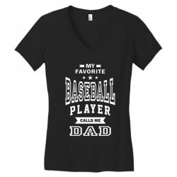 Men's Baseball Dad Women's V-Neck T-Shirt | Artistshot