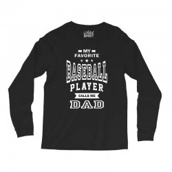 Men's Baseball Dad Long Sleeve Shirts | Artistshot