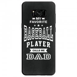 Men's Baseball Dad Samsung Galaxy S8 Case | Artistshot