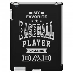 Men's Baseball Dad iPad 3 and 4 Case | Artistshot