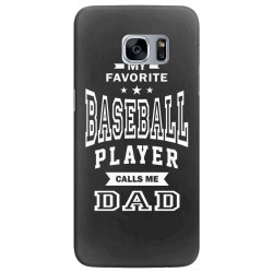 Men's Baseball Dad Samsung Galaxy S7 Edge Case | Artistshot