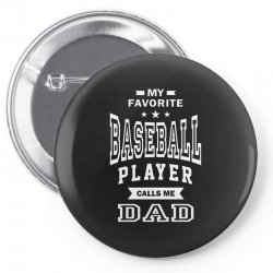 Men's Baseball Dad Pin-back button | Artistshot