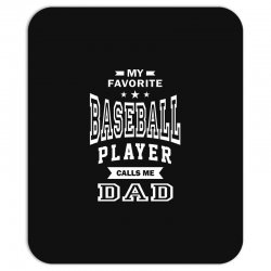Men's Baseball Dad Mousepad | Artistshot
