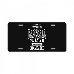 Men's Baseball Dad License Plate | Artistshot
