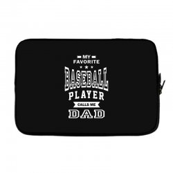 Men's Baseball Dad Laptop sleeve | Artistshot