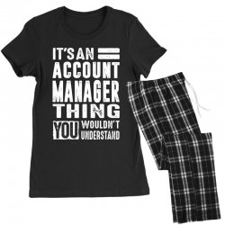 Account Manager Thing Women's Pajamas Set | Artistshot