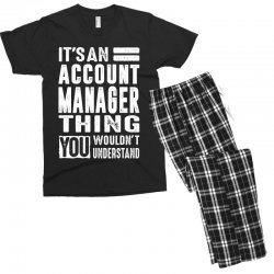 Account Manager Thing Men's T-shirt Pajama Set | Artistshot