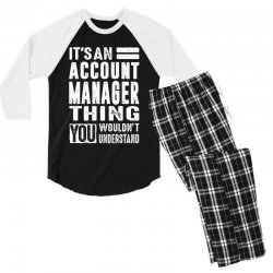 Account Manager Thing Men's 3/4 Sleeve Pajama Set | Artistshot