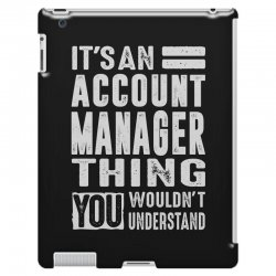 Account Manager Thing iPad 3 and 4 Case | Artistshot
