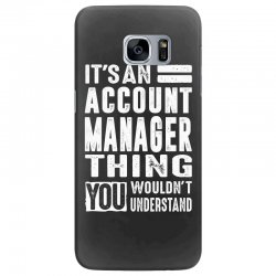 Account Manager Thing Samsung Galaxy S7 Edge Case | Artistshot