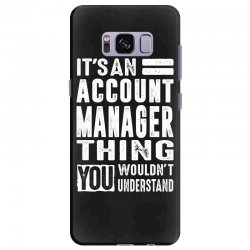 Account Manager Thing Samsung Galaxy S8 Plus Case | Artistshot