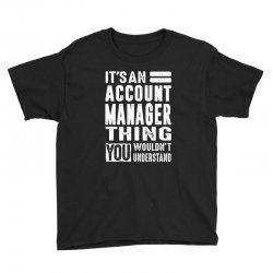 Account Manager Thing Youth Tee | Artistshot