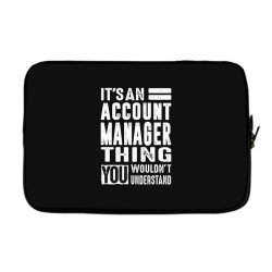Account Manager Thing Laptop sleeve | Artistshot