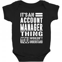 Account Manager Thing Baby Bodysuit | Artistshot