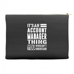 Account Manager Thing Accessory Pouches | Artistshot